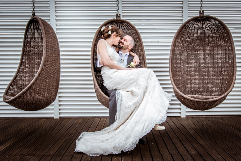fotografia di coppia durante un matrimonio a lignano sabbiadoro